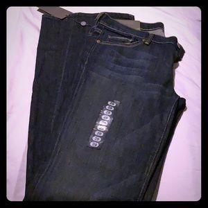 Designer Straight Leg Jeans